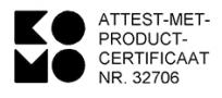 KOMO Certificaat
