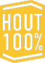 Hout 100 procent